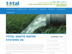 Waste Water Systems   Sewage Treatment   Pumping Stations - UK