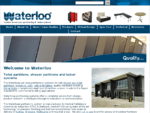 Waterloo l Toilet Partitions | Shower Partitions | Lockers l Ojmar l Cafe tables