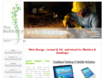 Web Design Ireland, content management websites e-commerce from The Webbery, County Donegal, ...