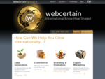 Multilingual SEO Global PPC from WebCertain - International Search Engine Optimisation
