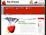 Web Design, Greece. Graphic Design, Greece | Refresa