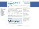 Webel - software, consulenza informatica, web application, SEO, CMS, informatica Viterbo