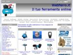 www. webferro. it, Vendita Saldatrici scanalatori verricelli argani elettrici biotrituratori seghet