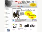 WebFoto digitalkamera, videokamera, fototilbehør, kikkert - altid billig