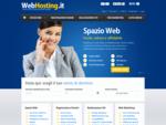 Spazio Web Hosting e Registrazione domini