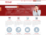 Web Hosting UK - Leader in Web Hosting Domains WHUK