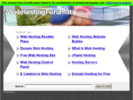 Web Hosting Forum