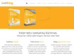 Svetainių kūrimas | Tinklapių kūrimas | Web dizainas