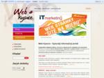 Web Kysuce - informačný portál zameraný na adresár aktívnych firiem, inzerciu a ubytovacích zariade