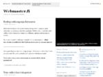 Webmaster. fi