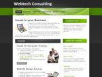 Webtech Consulting - Central Coast IT Training and Website Design and Development