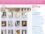 Vende vestido de novia usado, vestidos de fiesta, vestidos de noche de studio f, Pronovias Madrid