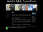 Wedding videos by Andrew Davey - professional and experienced wedding videographer based in Galway, ...