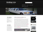 Weddings Limo Get the best Limousine Stretch Hummer or a cadillac for that special day of your ..