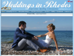 Rhodes Greece Weddings, Marriages - Rhodos, Rodos, St Pauls beach Lindos, Rhodes town, Greek ...