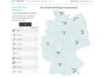 Wetter, Wettervorhersage, Reisewetter von wetterbericht. de