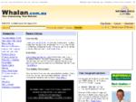 Whalan Community Portal