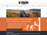 Active Adventure Holidays and Travel - Wildside Travel, NZ