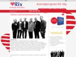 Journalprogram för dig | RixData Journalsystem för vårdgivare Journalprogram för dig | RixData jou