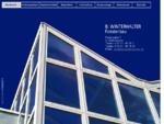 Winterhalter Fensterbau. Kunstoff Fenster, Aluminiumfenster, Haustüren
