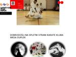 Karate klub WKSA Duplek