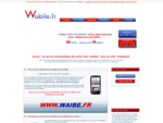 Creacute;ation site mobile pour iphone, HTC, blackberry... - creacute;er un site pour teacute;l