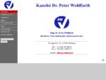 Kanzlei Dr. Peter Wohlfarth - Startseite