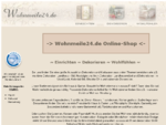 Wohnmeile24. de - OnlineShop Dekoration, Landhausmouml;bel, Kunstdrucke, Spiegel versandfrei