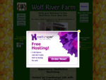 Wolf River Farm Welcome, Organic, Produce, Herbs, Teas, Local, Naturally Grown, Handicrafts, Candles