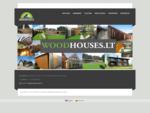 Mediniai, rąstiniai, skydiniai, karkasiniai namai | Projektuojame, gaminame ir statome namus i