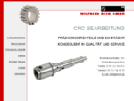Wilfried Rein GmbH - CNC Bearbeitung