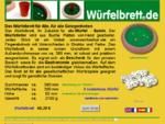 Das Würfelbrett für Alle, für alle Gelegenheiten. kostenlose Spielanleitungen | gratis Spielblöcke ...