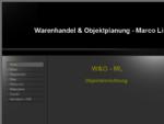 Warenhandel Objektplanung - Marco Linde - Home
