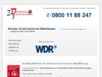 Schlüsseldienst Oberhausen Empfohlen von Verbraucherschutz. de
