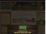 Wickis Grillhütten (Kota, Grillhütte, Saunahütte, Gartenhaus, Pavillon)
