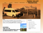 Yarra Valley Transfers - Yarra Valley minibus transfers and winery tours