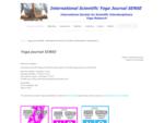 Međunarodno društvo za naučna interdisciplinarna istraživanja u oblasti joge - Beograd, Srbija