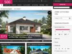Studio Z500. si - Projekti hiš in garaž, enodružinske hiše - Domov