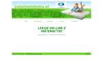 zadanedodomu. pl Matematyka Szkoła Podstawowa i Gimnazjum- lekcje video on-line