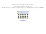 Die Websites von Gerhard Zamut