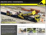 Welkom - Zeeuwse Asfalt Onderneming - asfaltprojecten in Zeeland en West-Brabant