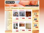 ZDETEX kvalitní bytový textil