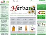 Domača lekarna z naravnimi, zeliscaron;čnimi in sorodnimi izdelki - Herbana. si