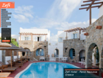 Zefi Hotel Paros Naoussa - Hotels in Paros Greece. Online Booking