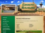 Zimmerei Jöchl, St. Johann/Tirol: Dachstuhl, Carport, Treppe, Balkon, Fassade, Terrasse, Gartenhaus