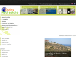 Zodos Real estate Ακίνητα, Οικόπεδα, Οικόπεδα παραθαλάσσια, Βίλλες, Διαμερίσματα, Μεζονέτες, ...