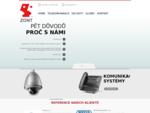 Telefonní ústředna, IP kamera, AXIS a kabeláž - Zont - Centrum komunikačních systémů a sítí