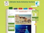 Vítejte na stránkách základní školy Antonína Sochora v Duchcově. Na stránkách jsou veškeré informac