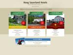 Hoog Sauerland Hotels - Landhotel Zur Schmitte - Landhotel Am Park - Hotel Bilstein - Alles inclusie